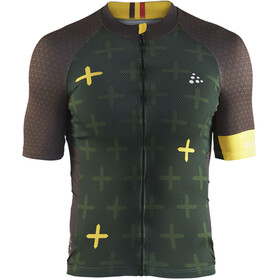 Craft Monument - Maillot manga corta Hombre - verde
